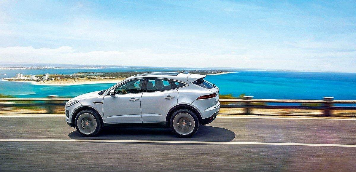 Jaguar E-Pace. Игра на понижение