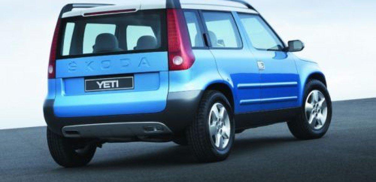 Чешские автожурналисты назвали Skoda Yeti автомобилем года