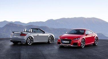 Audi TT RS. 400 «лошадей» и матричные фонари