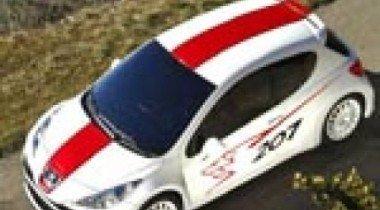 Peugeot 207 RCup. Гость из будущего