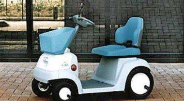 Появился «джинсовый» вариант электромобиля Honda Mon Pal ML200