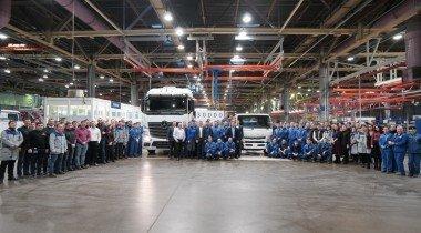 Завод «ДК РУС» выпустил 30-тысячный грузовик