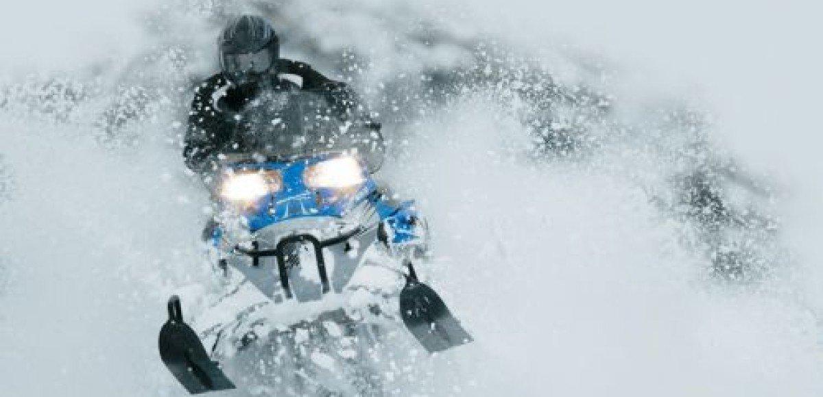 Скорость снегоходов. Двести? Не проблема