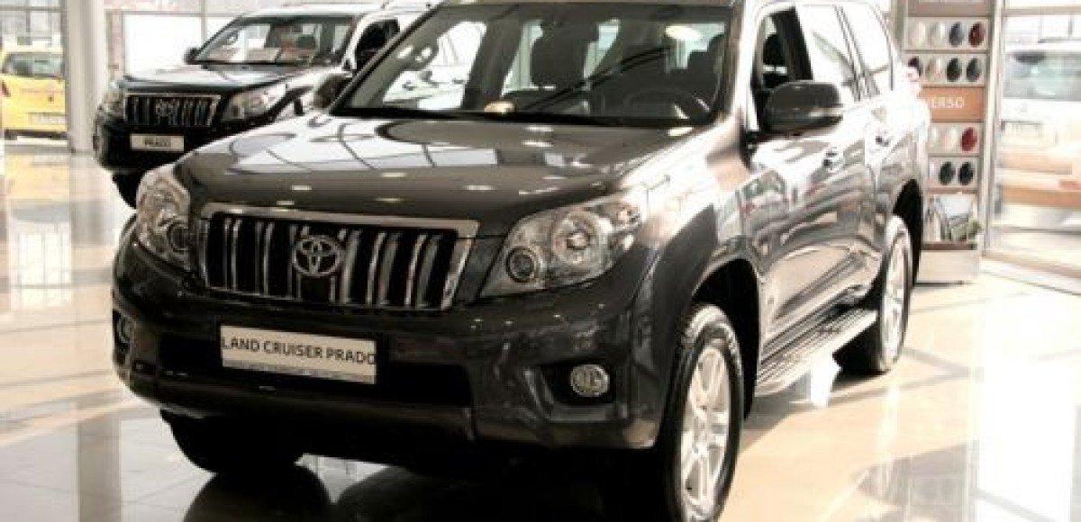 В автоцентрах «Тойота» компании «СП БИЗНЕС КАР» представили дизельный Land Cruiser Prado