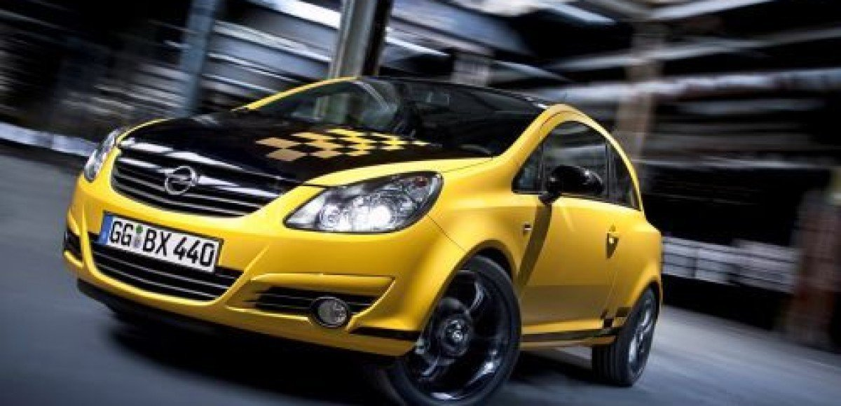 Opel Corsa Color Race. Цвет имеет значение