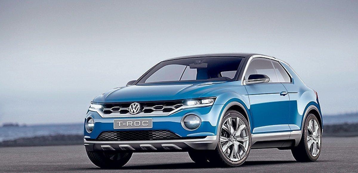 Занять нишу. Volkswagen T-ROC