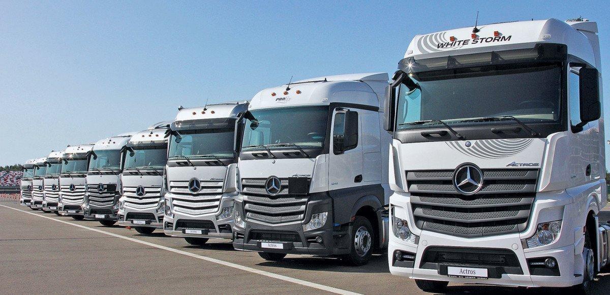 Мercedes-Benz Actros и Arocs. Тест-драйв на автодроме Moscow Raceway
