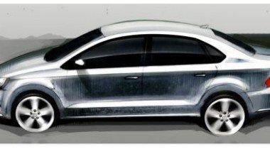 Новые подробности о седане Volkswagen для России