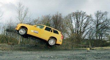 Новый Vovlo XC90 оснащен системой предотвращения съезда с дороги
