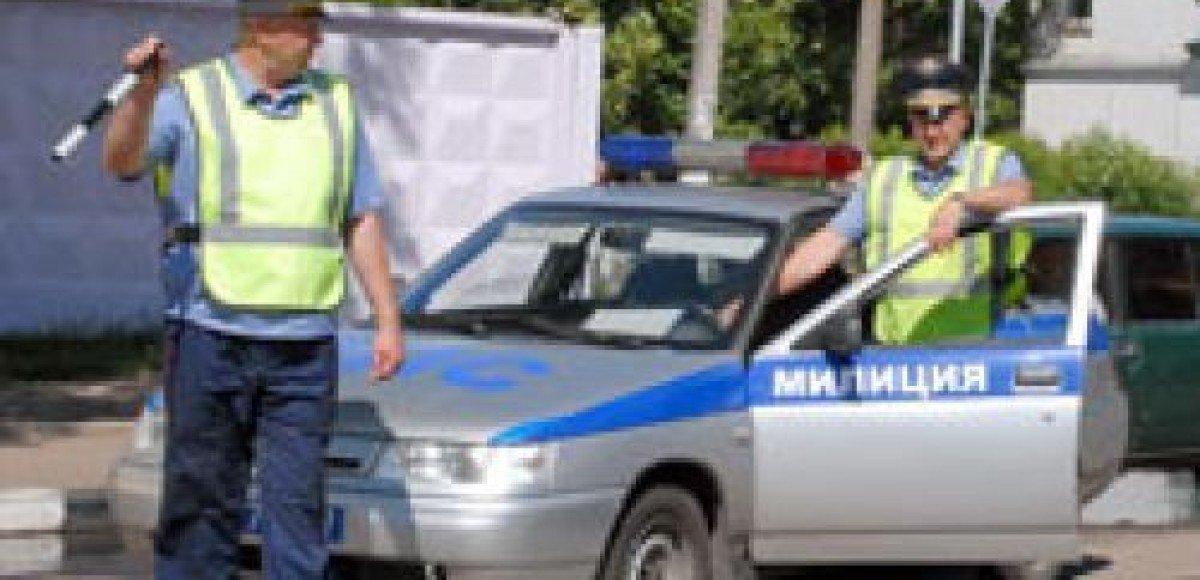 На Симферопольском шоссе угонщика пытались остановить выстрелами