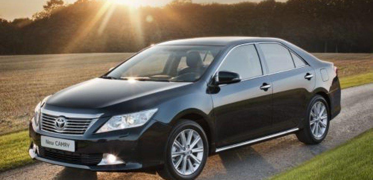 Начало приема заказов и старт продаж Toyota Camry нового поколения