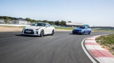 Nissan GT-R против Skyline GT-R R34V-spec. Прощай, Годзилла!