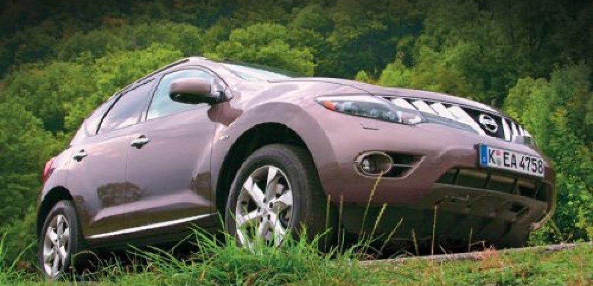 На российском заводе Nissan стартовал выпуск кроссовера Murano