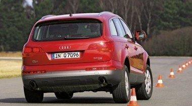 Audi Q7 vs BMW X5 vs Mercedes-Benz ML 320 vs VW Touareg. Квартет высоких
