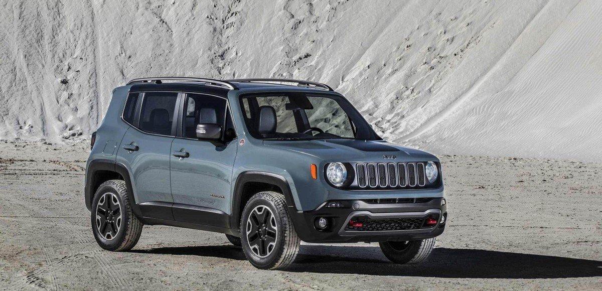 Jeep представил субкомпактный кроссовер Renegade