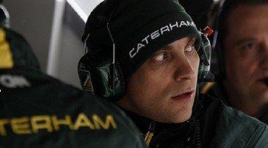 Пятница, 13-е.  Репортаж из Caterham F1 Team