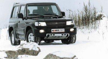 Hyundai Galloper Innovation. Черным по белому