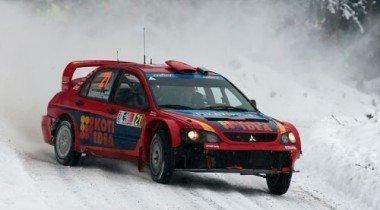 Mitsubishi Lancer Evo WRC. 300 тысяч с улыбкой