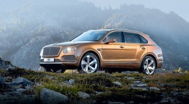 Bentley Bentayga. Вне конкуренции