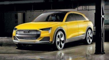 Audi H-Tron Quattro. Заливать? Заряжать?..