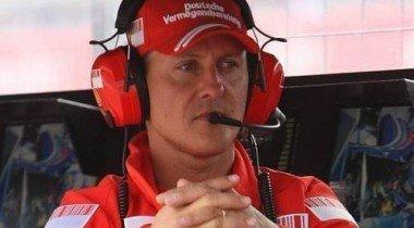 Михаэль Шумахер в Англии сбил пешехода