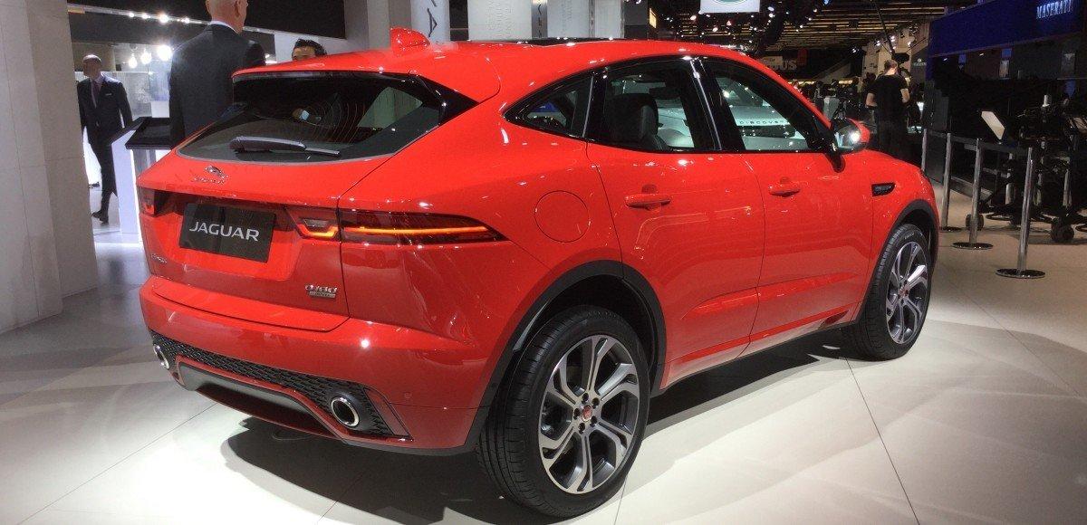 Jaguar E-Pace: «Ягуар» показал маленький кроссовер