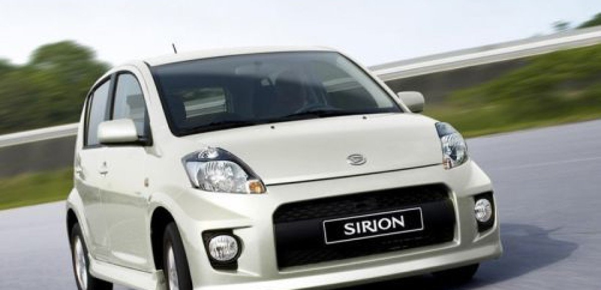 Daihatsu модернизировала Sirion