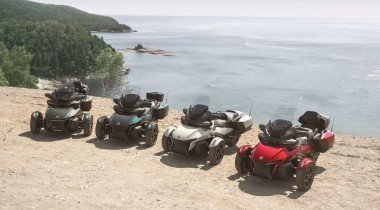 Can-Am Spyder RT: роскошный трехколёсный «турист»
