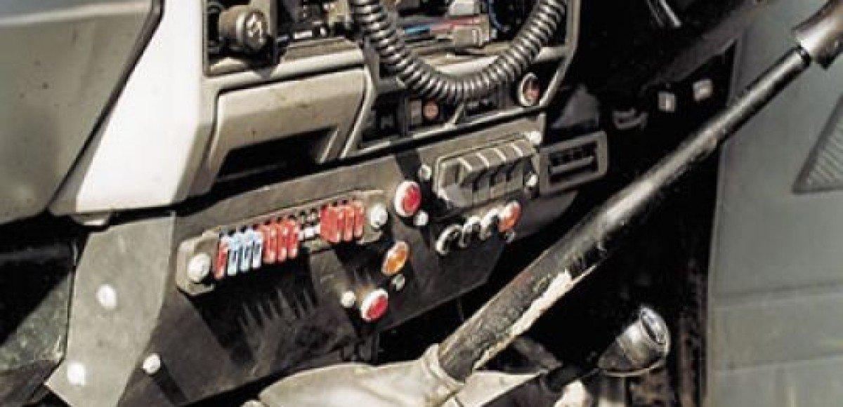 Житель Челябинской области оборудовал свою машину радиоактивной деталью от самолета
