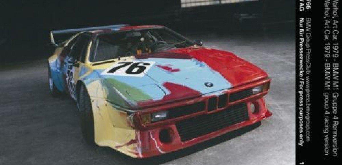 Арт — кар BMW Энди Уорхола примет участие в гонках «Формулы 1» Гран-при Германии