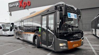 Электрошок. Международный автобусный салон в Кортрейке