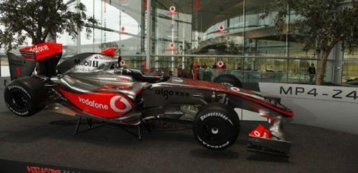 Презентация McLaren-Mercedes состоится 29 января
