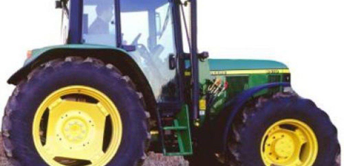 Голландские тинейджеры угнали трактор
