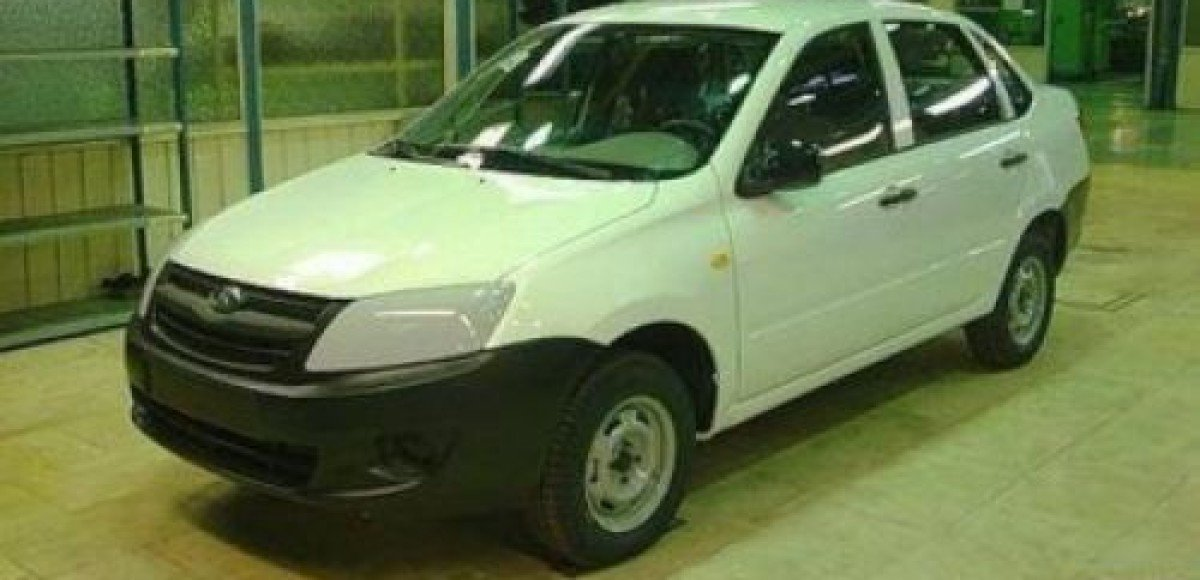 Папарацци предъявили первое шпионское фото Lada Granta