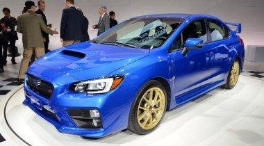 В Детройте показана новая Subaru WRX STI