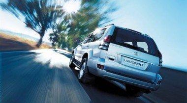 В Москве у капитана милиции угнали Toyota Land Cruiser Prado