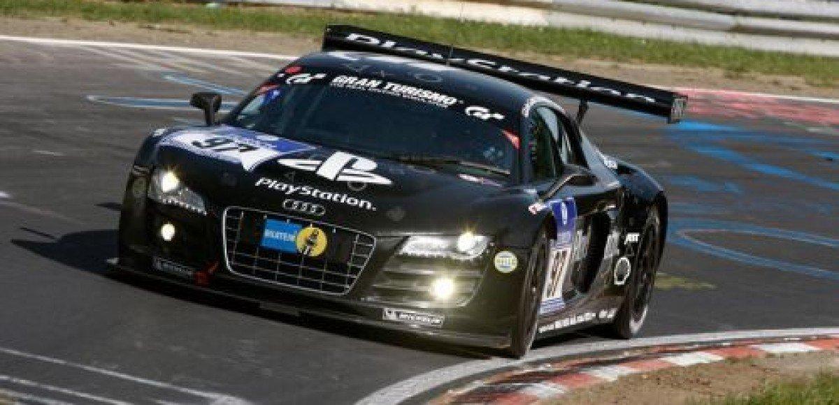 Audi R8 LMS выдержала тест на выносливость в Нюрбургринге