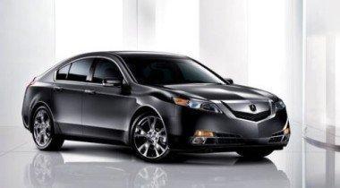 Осенью Honda выведет на автомобильный рынок новый седан Acura TL