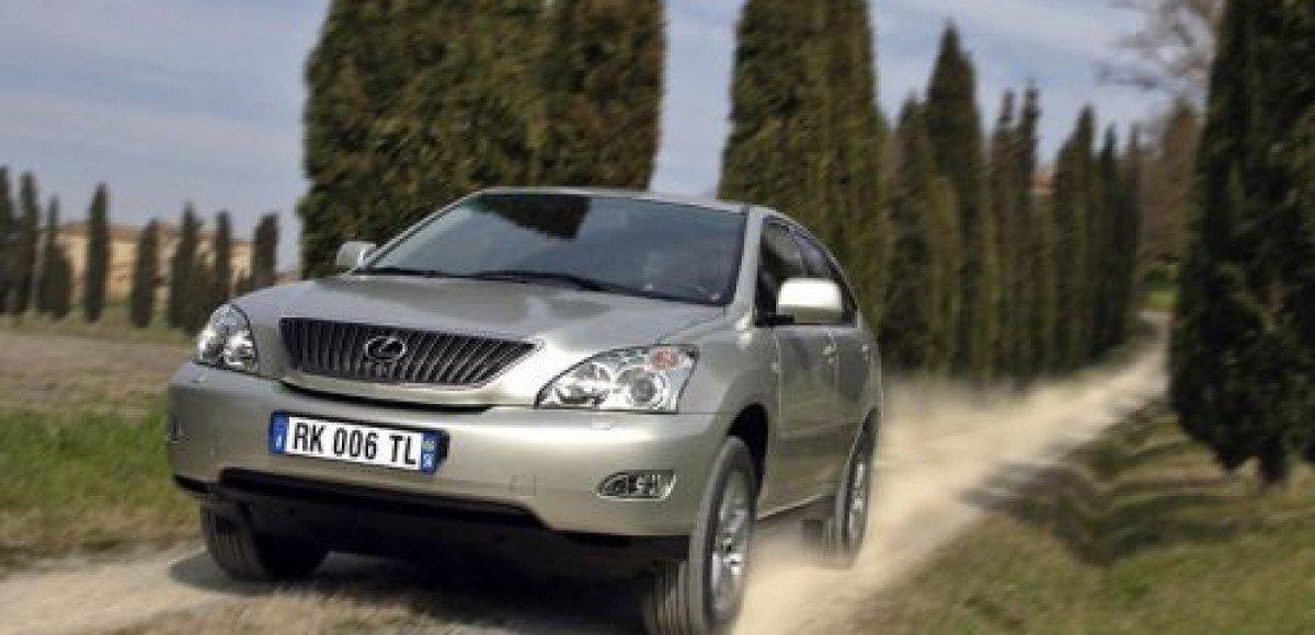 В Москве похищено еще два автомобиля Lexus