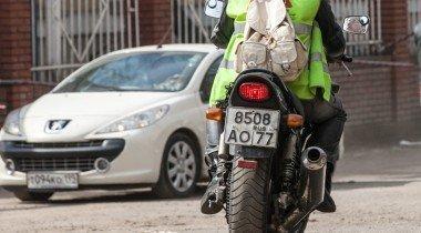 Мотоциклисты наводят страх на автомобилистов