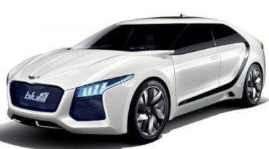 Hyundai покажет в Сеуле концептуальный Blue2