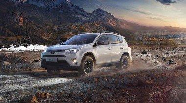 Юбилейная версия Toyota RAV4 25th Anniversary приехала в Россию
