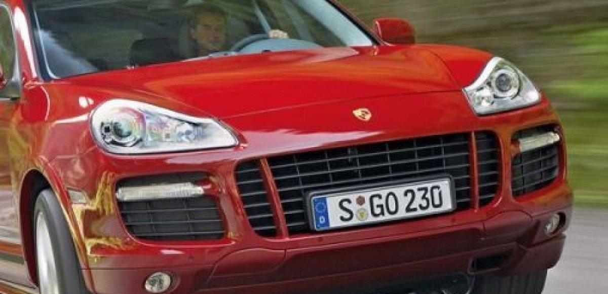 В Москве угнан еще один Porsche Cayenne