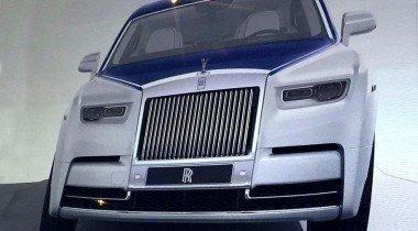 Китайцы рассекретили новый Rolls-Royce Phantom