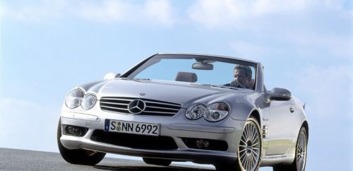 Mercedes-Benz SL 55 AMG. Самый-самый Mercedes