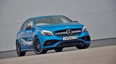 Mercedes-AMG А 45 4Matic. Не те уж годы…