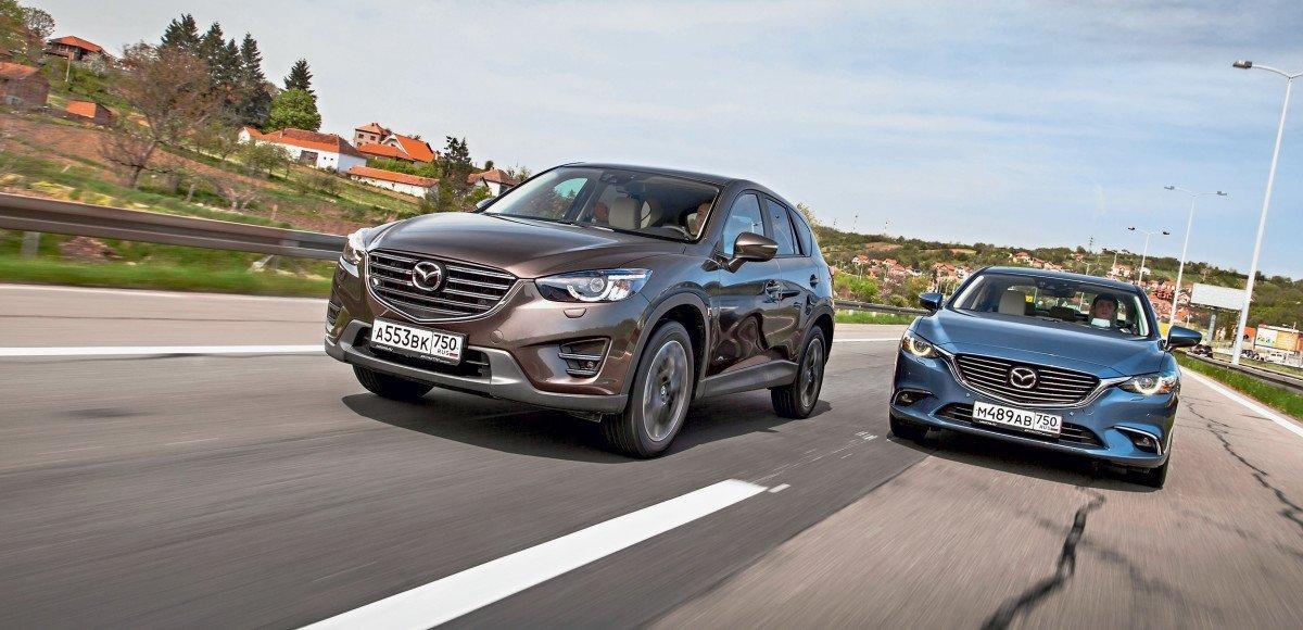 Mazda 6 и CX-5. Код доступа