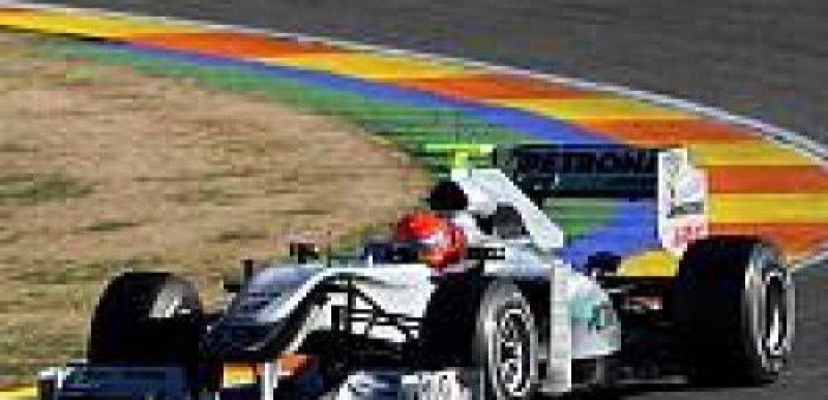 Успешный дебют для заводской команды Mercedes