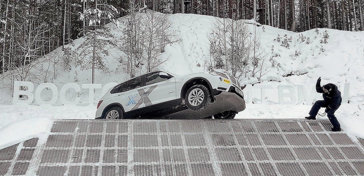 BMW xPerience Tour 2013. Снег, гололед, xDrive