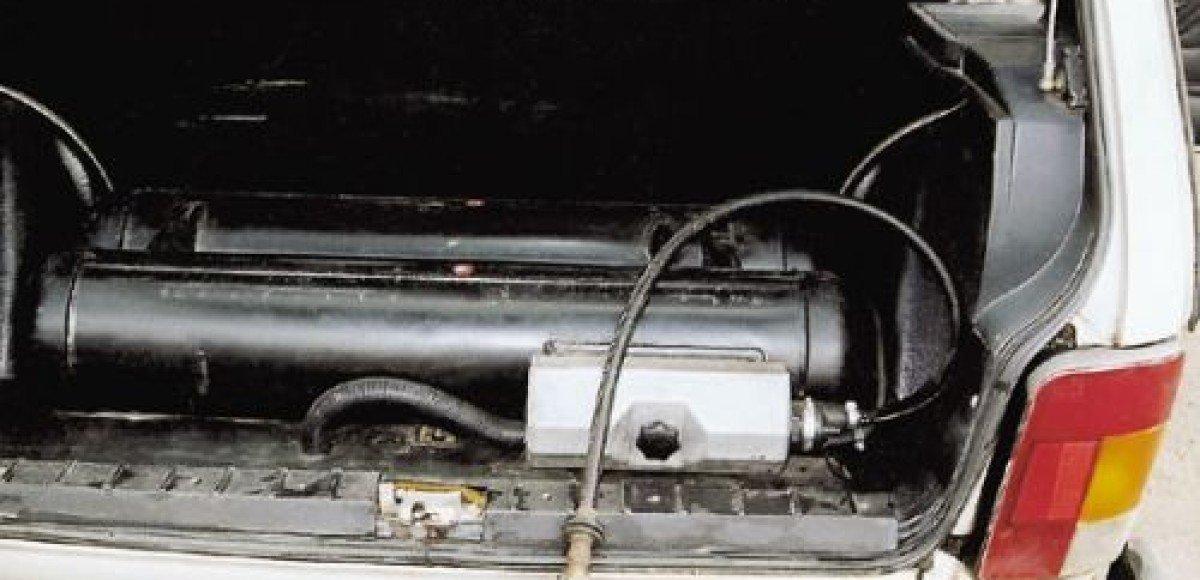 В Подмосковье в автомобиле взорвался газовый баллон